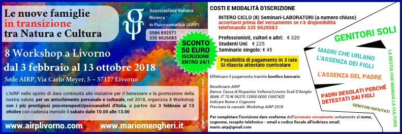 Mario Mengheri - Psicologo Psicoterapeuta Psicoanalista Livorno - Corso Sulle Disfunzioni Familiari