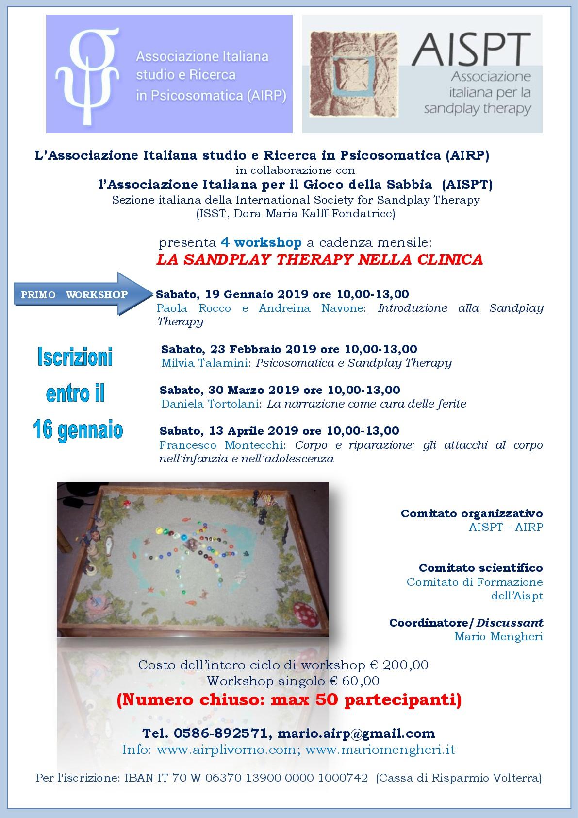 Mario Mengheri - Psicologia - Sandplay Therapy nella clinica