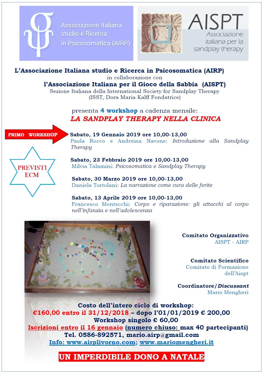 Mario Mengheri - Psicologia - Sandplay Therapy nella clinica - Viaggio dentro se stessi