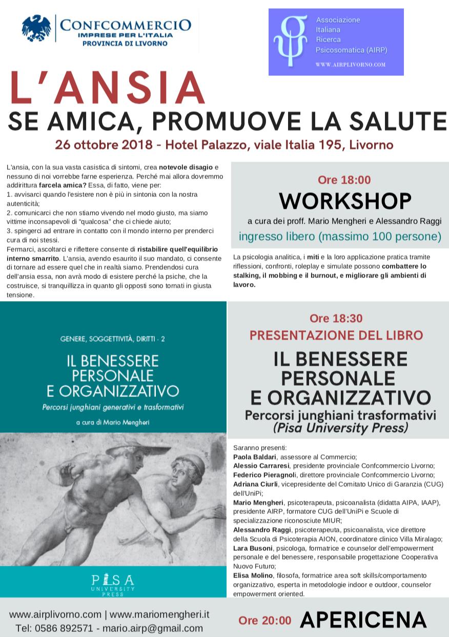 Mario Mengheri - Psicologo Psicoterapeuta Psicoanalista Livorno - L Ansia Se Amica Promuove La Salute
